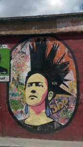 Frida Khalo with a mohican
