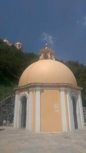 On the way to the church - Cholula