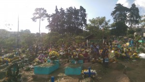Sumpango cemetery on The Day of the Dead 2015