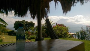 View from one of the many outside ranchos at Pasajcap