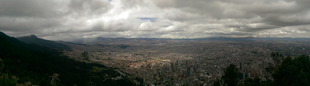 Bogota from Montseratte