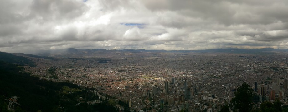 Bogota: busy days and quiet nights