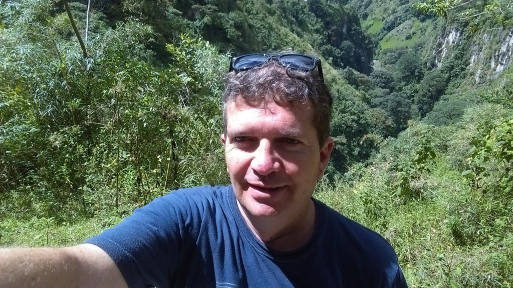 Combeima Canyon panoramic view
