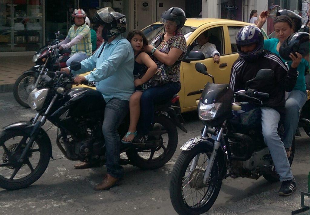 A couple of motos in Palmira