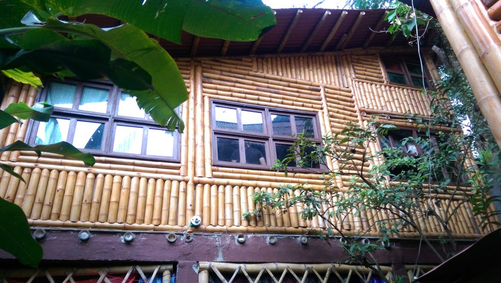 Bamboo house in Pance